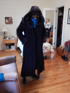 winter clothes fashion show